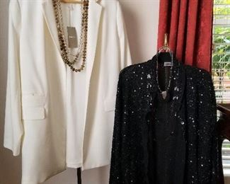 Chico's sweater and jacket - size 1