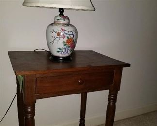 Country Sheraton style side table