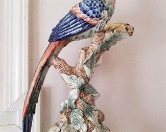Mottahedeh Bird Figurine - Williamsburg Brighton Pavillion