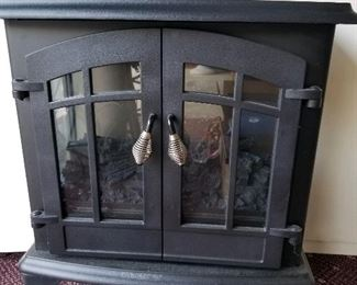 Electric Franklin stove heater