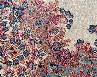 Closeup of rug border