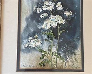 Print - still life, flowers