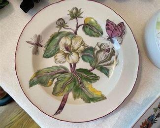 "Motaheddeh dessert/salad plate - ""Chelsea Botanical"""