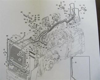 NEW Lot of 10 John Deere AC Refrigerant Hose RE584839 Fits 8000,7000,6000 Series & many More