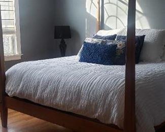 Ethan Allen King Sz Bed