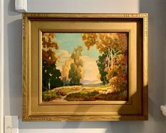 Oil by Theodore Jackson 1878 - 1940