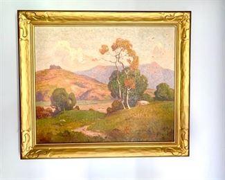 Oil By Dana Bartlett 1882 - 1957