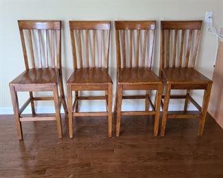 4 Breakfast Bar Chairs