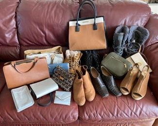 Womens Boots Shoes and Purses