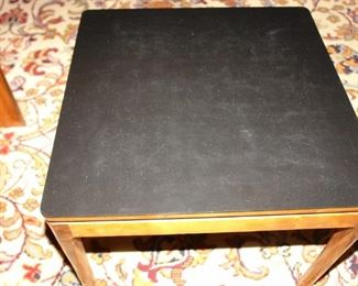 One of Four Removeable Nesting Side Tables that Fit Under the Drexel Coffee Table