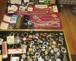 Much Costume Jewelry