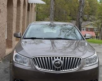 2010 Buick Lacrosse CXL. Local One Owner. Loaded. Service Records. We will presale this car for $10,000.00. Kelly Blue Book Private Party Value is $9,000.00.