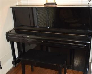 Young Chang Ebony Piano U 121
