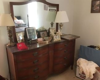 Double dresser drawers