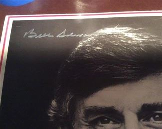 Campaign Posters Personally Signed, w/ COA !          ONE-OF-A-KIND