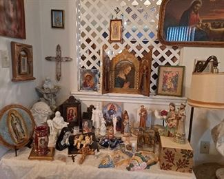 Religious/Catholic Collectibles