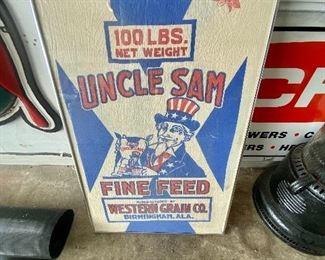 Vintage Birmingham feed sack