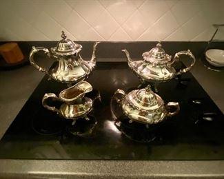 Vintage Reed & Barton sterling silver Tea set 670