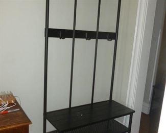 Coat Rack w/shelves