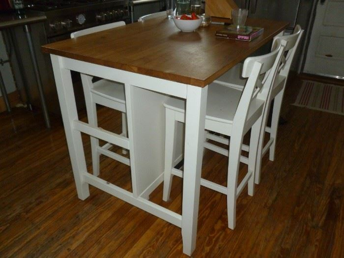 Counter-height table & stools