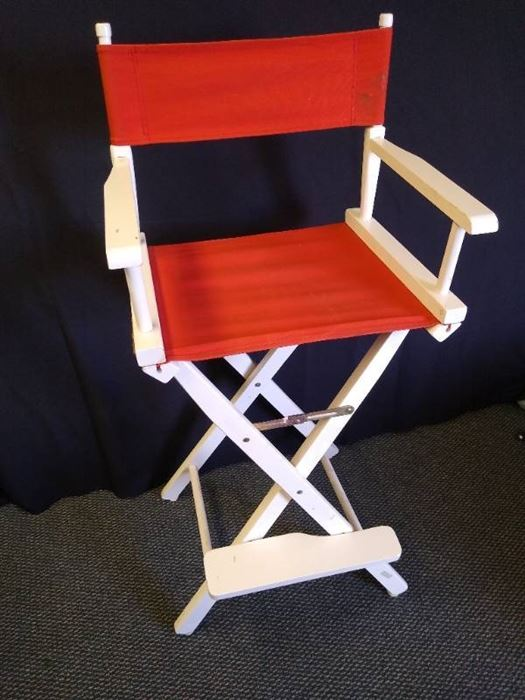 """Collapsible directors chair - 46"""" H"""