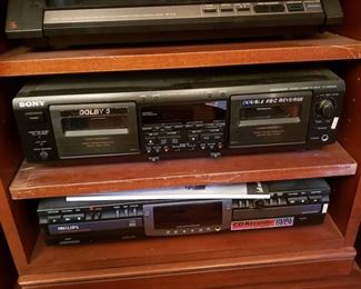 Complete set of Home Audio Video Equipment.