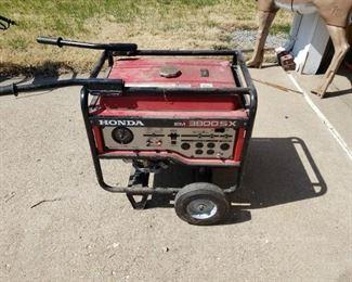 Honda EM 3800SX generator