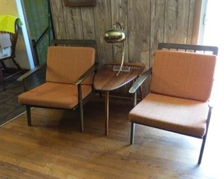 Mid century modern furniture.  **Table sold**
