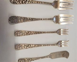 Schofield sterling butter knives