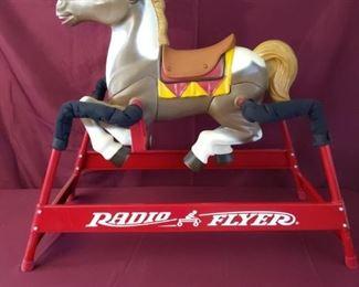 001 Radio Flyer Riding Horse