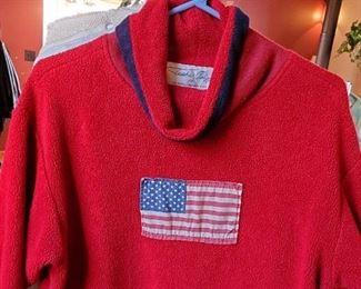 Tasha Polizzi American Flag sweater