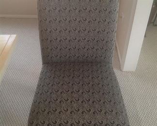 One of six chairs for the dining room set.