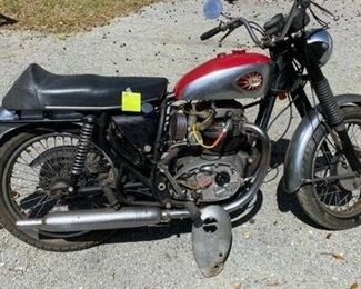 1966 BSA motorcycle