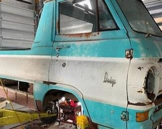 1968 Dodge A100 restoration project