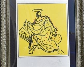 Salvador Dali Matthew from the Apostles Suite Signed