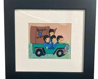 Beatles Animation Sericel