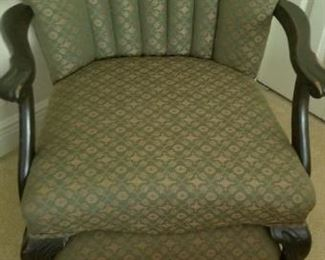 Victorian era look a like chair no stains or tears