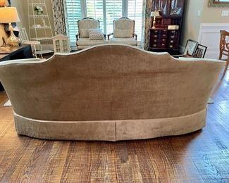 Sherrill Velvet Upholstered Sofa