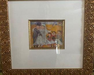 Graciela Rodo Boulanger framed print