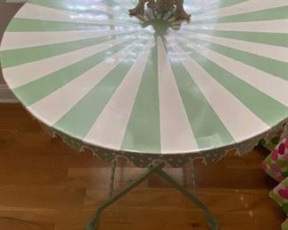 Harlequin metal tables (2)