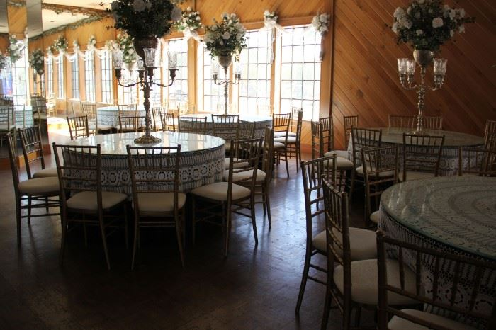 overall view banquet room