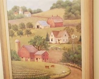 Rural Nebraska farm scene by Colleen Eubanks