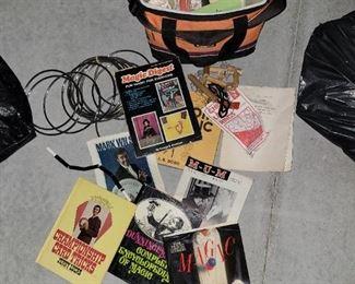 Vintage magician bundle props/books