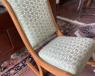 Sage Green Rocking Chair, $75