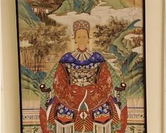 Large Asian Ancestral Portrait