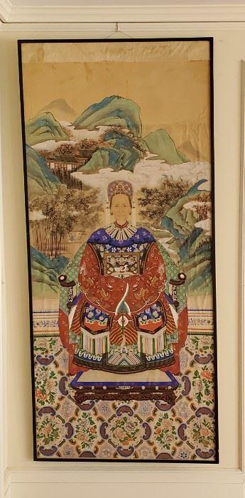 Large Asian Ancestral Portrait