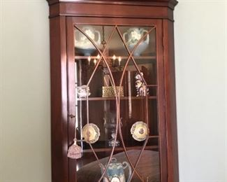 FourTiered Cabinet with Decor