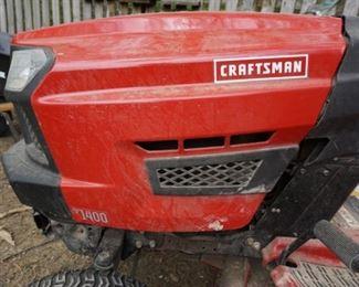 Craftsman mower light use   SOLD