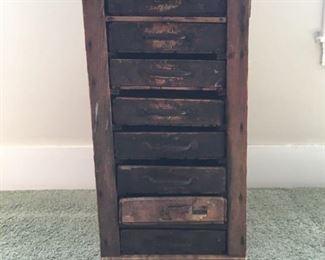 003 Antique Printers Box