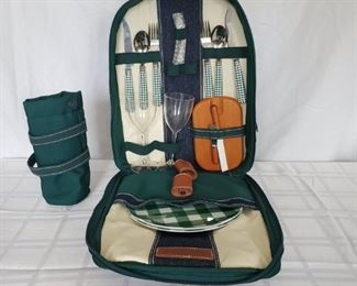 006 Brookstone Picnic Basket Backpack